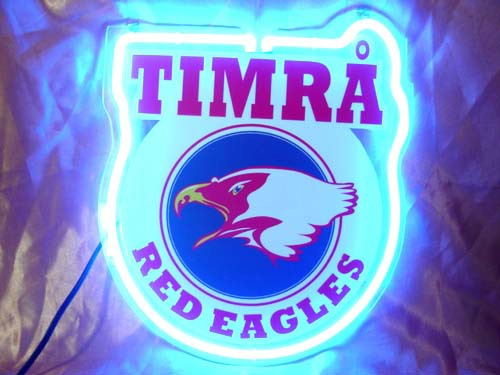 Primary image for Timrå Red Eagle Neon Light Sign 10'' x 8''