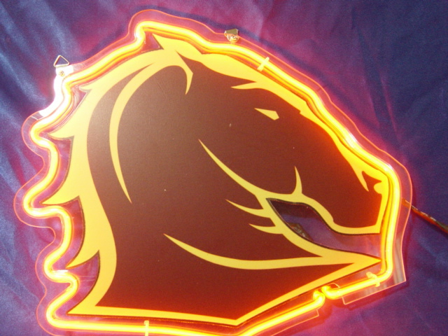 Primary image for NRL Brisbane Broncos Neon Light Sign 10'' x 8''