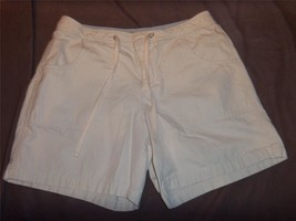 W5885 Womens OLD NAVY Tan Khaki Cotton HIGH WAISTED SHORTS Casual Chino ... - $5.48