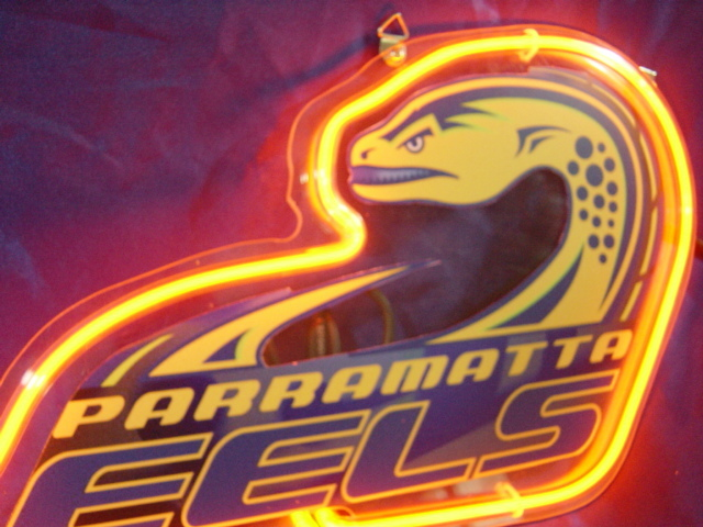 Primary image for NRL Parramatta Eels Neon Light Sign 10'' x 8''