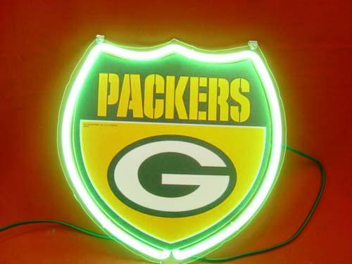 Primary image for NFL Green Bay Packers Neon Light Sign 10'' x 8''