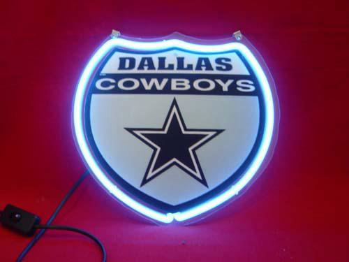 Primary image for NFL Dallas Cowboys Neon Light Sign 10'' x 8''