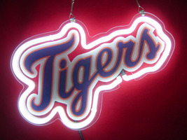 MLB Detroit Tigers Baseball Sports Neon Light Sign 11'' x 6'' - $199.00