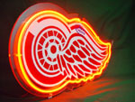 Primary image for NFL Detroit Red Wings Hometown Ice Hockey Neon Light Sign 10'' x 8''