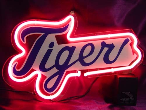 Primary image for MLB Detroit Tigers Neon Light Sign 10'' x 8''
