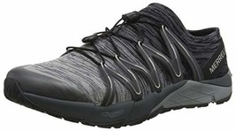 Merrell Men's Bare Access Flex Knit Sneaker Black/Grey 8.5 M US - $119.38
