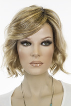 January 12FS8 Brunette Medium Lace Front Monofilament Jon Renau Wavy Wigs - $328.52