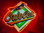 Primary image for MLB Baltimore Orioles Neon Light Sign 10'' x 8''