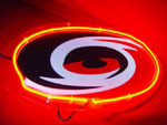 Primary image for NHL Carolina Hurricanes Neon Light Sign 10'' x 8''