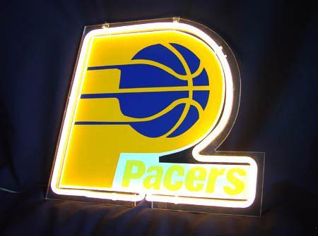Primary image for NBA Indiana Pacers Neon Light Sign 10'' x 8''