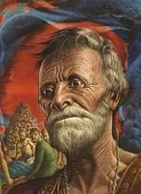 "Guy Rowe. ""Joshua"". Vintage 1949 Religious Biblical Lithograph Print. 9X12 - $12.00"