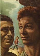 "Guy Rowe. ""David & Jonathan"". Vintage 1949 Religious Lithograph Print. 9X12 - $18.61"
