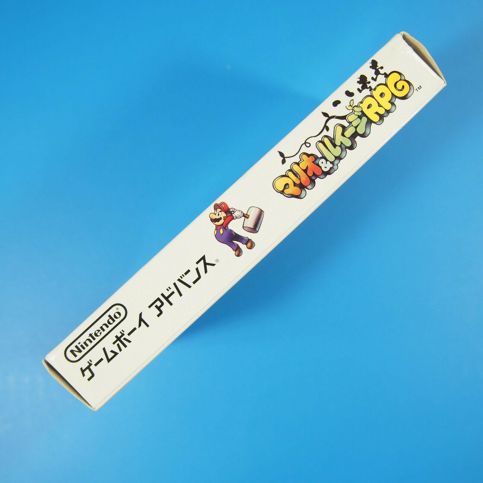 Mario & Luigi Super Star Complete Box (Nintendo Gameboy Advancd GBA, 2003) Japan