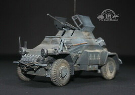 German Sd.Kfz 222 Leichter Panzerspähwagen (4X4) 1:35 Pro Built Model - $222.75