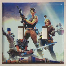 Fortnite Games Light Switch Power Outlet wall Cover Plate Home Decor image 5