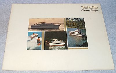 Primary image for Vintage Chris Craft Boats 1965 Color Illustrated Sales Catalog Brochure