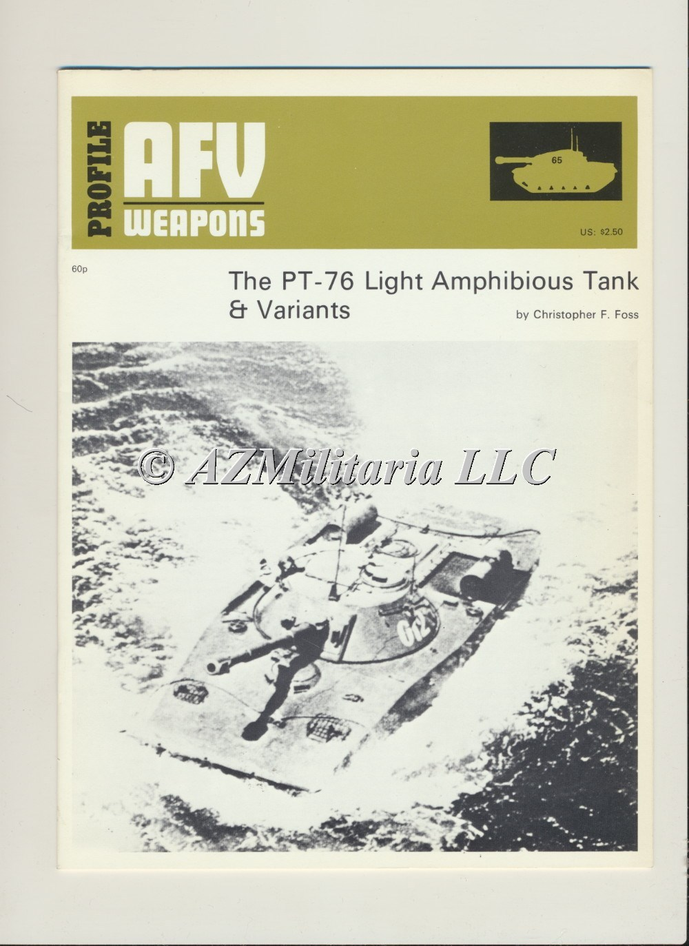 Primary image for AFV WEAPONS Profile Number 65: The PT-76 Light Tanks & Variants