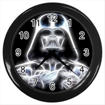 Darth vader star wars round black wall clock room decor design gift  thumb200