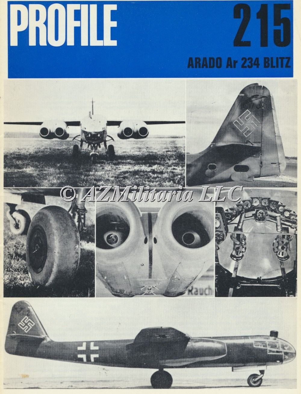 Primary image for Aircraft Profile Number 215: ARADO Ar 234 BLITZ