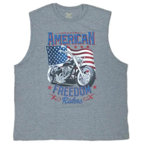 d66d81e1e489e American Freedom Rider Sleeveless T-Shirt -  7.00 · Advanced search for Faded  Glory Shirt