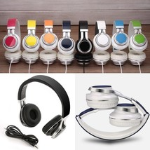 Black Foldable Headset Stereo Headphone With Microphone - ₨1,461.10 INR