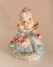 Vintage Lefton Friday's Child Angel Figurine - $10.00