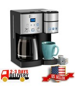 Automatic Coffee Center 12 Cup Coffeemaker Single Serve Brewer 3 Day Delivery - $252.44