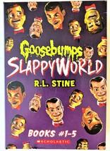 Boxed Set Books 1-5 Goosebumps Slappyworld R L Stine Slappy Birthday Att... - $17.81