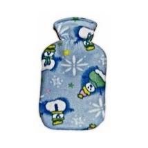 Acqua Sapone Fleece Snowmen Mini Plushie Cover for 0.7l Fashy Bottle (bo... - $214,74 MXN
