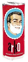 Arko Shaving Soap Stick, White, Pack Of 3 image 7