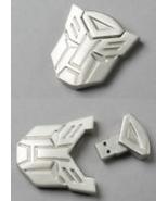 An 8GB USB Flash Drive Memory Stick : SILVER MASK - - $100.00