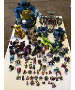 Lot of Vintage Reg & Mini Z-Bots Figure Micro Machines Galoob  Vehicles ... - $79.19