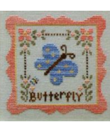 Butterfly Garden Party  Cotton Thread Pack cross stitch CCN - Classic Co... - $12.60