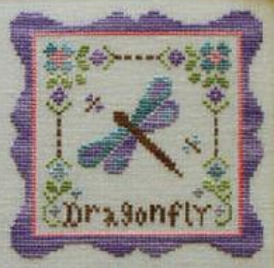 Primary image for Dragonfly Garden Party  Cotton Thread Pack cross stitch CCN - Classic Colorworks