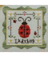 Ladybug Garden Party  Cotton Thread Pack cross stitch CCN - Classic Colo... - $12.60