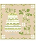 Lime Cottage Cakes Cotton Thread Pack cross stitch CCN - Classic Colorworks - $12.60