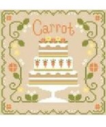 Carrot Cottage Cakes Cotton Thread Pack cross stitch CCN - Classic Color... - $12.60
