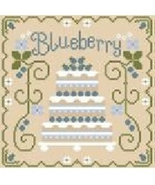 Blueberry Cottage Cakes Cotton Thread Pack cross stitch CCN - Classic Co... - $12.60