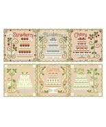 FULL BUNDLE Cottage Cakes  (6 charts) Cotton Thread Packs CCN-Classic Co... - $71.40