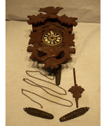 Vintage Regula Cuckoo Clock Black Forest West G... - $97.95