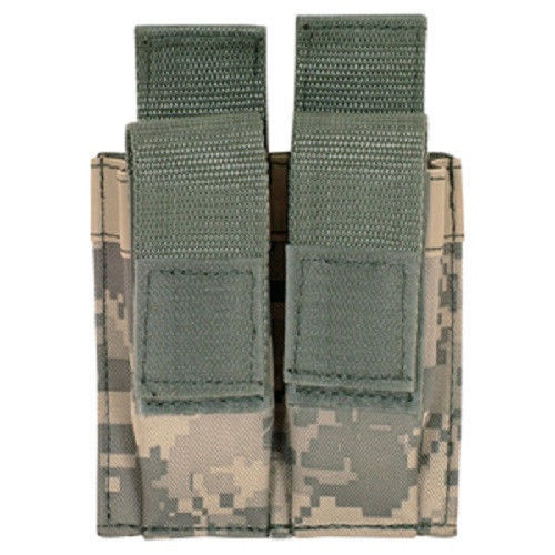Primary image for Military Tactical Quick Deploy Dual Pistol Mag MOLLE Pouch ACU Army Digital Camo