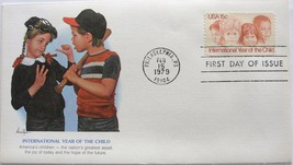Feb. 15, 1979 First Day of Issue, Fleetwood Cover, Int'l Year of the Chi... - $2.18