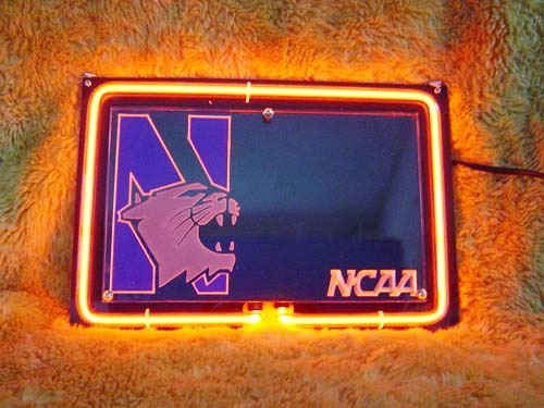 Primary image for Northwestern University 3D Neon Light Sign 11'' x 8''