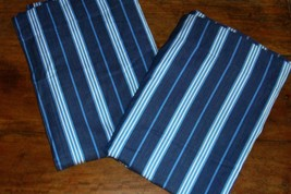 Pottery Barn Kids Navy Blue 1 Classic Stripe Drapery Panel 44 X 63 EUC - $29.67