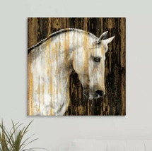 """Horse II"" Canvas Art Print - $70.13"