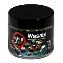 Sushi Chef Natural Wasabi (Powdered Horseradish), 1 Ounce Glass Jar - $12.82