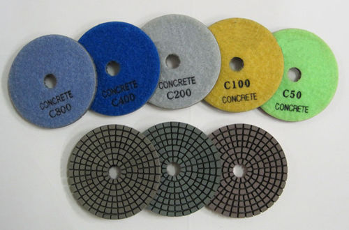 "Primary image for ZERED 3"" Diamond Concrete Resin Polishing Pads 1 SET"