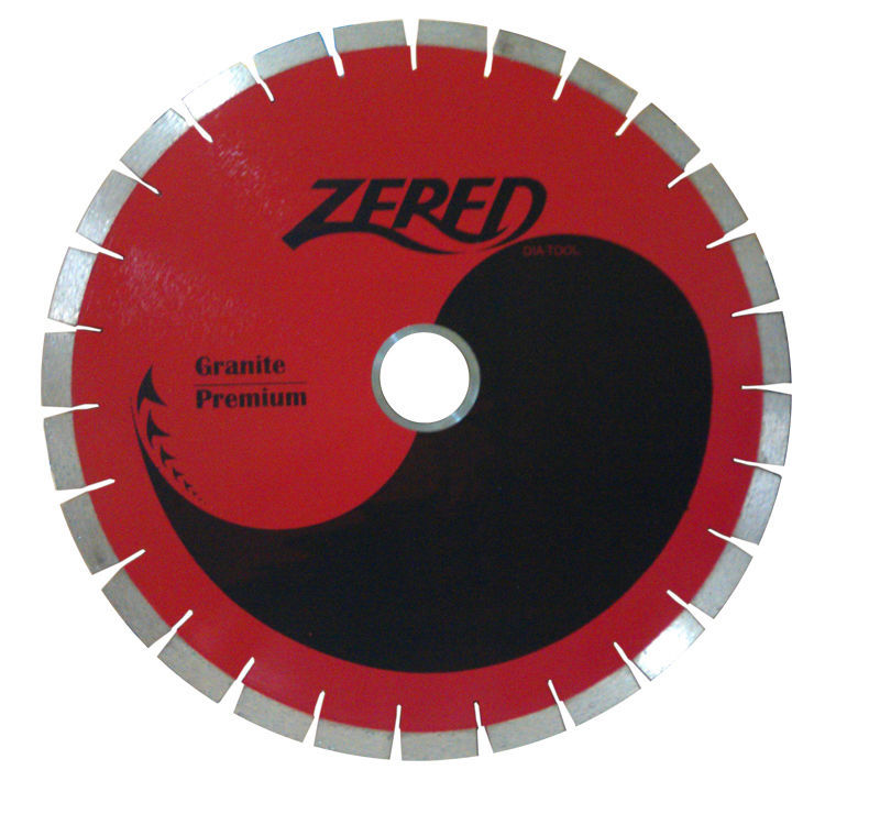 "Primary image for ZERED 14"" Silent Core Diamond Blade for Bridge Saw Granite"