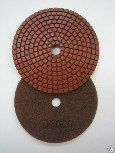 "Primary image for ZERED 4"" Standard Diamond Polishing Pad Disc #3000 Granite Tool"