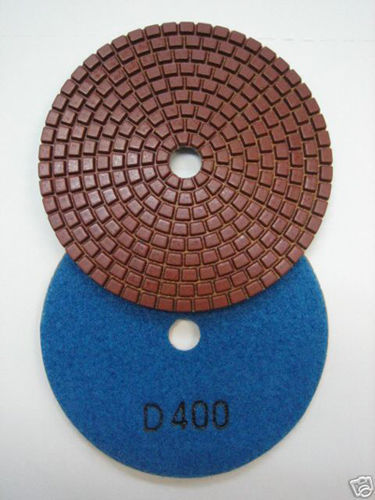 "Primary image for ZERED 4""Standard Diamond Polishing Pad Disc #400 Granite Tool"